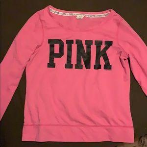 Pink PINK Long Sleeve